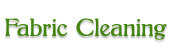 Fabric Cleaning Logo