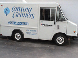 Lansing Cleaners Delivery Truck